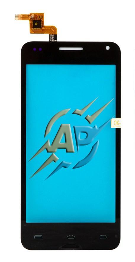 Тачскрин сенсор для смартфона Bravis Alpha