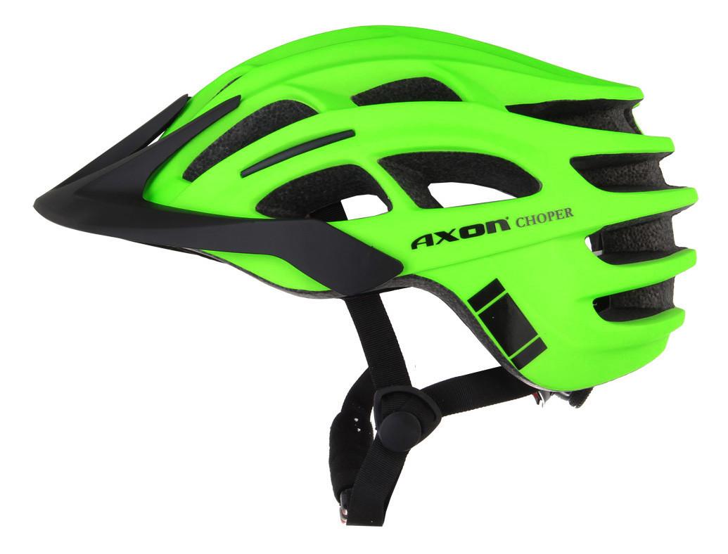 Шолом велосипедний P701052 Axon Choper L-XL Green