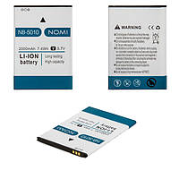 Аккумулятор (АКБ, батарея) NB-5010 для Nomi i5010 Evo M, 2000mAh, оригинал