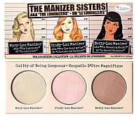 Набор хайлайтеров theBalm The Manizer Sisters (реплика)