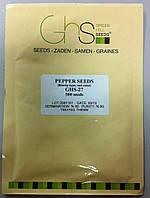 Семена красного перца тепличного GHS-27, среднеранний, 500 семян