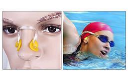 Беруши для плавания и зажим для носа в пластиковом футляре HN-5, фото 3