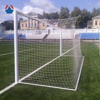 Сетка футбольная, шнур-4,5 мм.(капрон), ячейка-15 см., глубина-2,1м. #F/B
