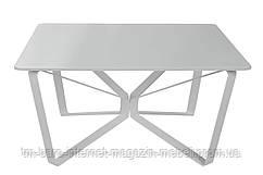 Стол журнальный LUTON S (89.5*89.5*45см) белый, Nicolas