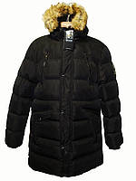 Мужская удлиненная зимняя куртка - парка Glo - Story XXL