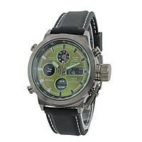 Мужские наручные часы AMST AM3003 Black/Black/Green