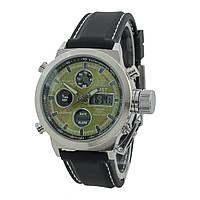 Мужские наручные часы AMST AM3003 Black/Silver/Green