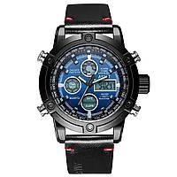 Мужские наручные часы AMST 3022  Smooth Wristband Black-Blue 5