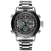 Мужские наручные часы AMST 3022 Metall Silver-Black