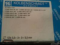 800014910000 KOLBENSCHMIDT Кольца поршневые MAN D2356 d123.0 STD