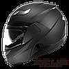 Мотошолом Zeus ZS-3100 Чорний матовий