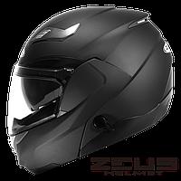 Мотошолом Zeus ZS-3100 Чорний матовий, фото 1