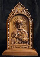 Резная икона Св. Николай Чудотворец