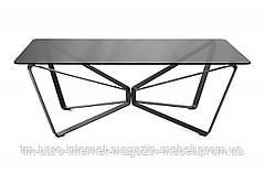 Стол журнальный LUTON R (125*70*44см) дымка глянец, Nicolas
