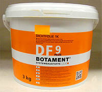 Гидроизоляция Botament DF 9 Plus ведро 3 кг. эластичная для душевых кабин и ванных комнат