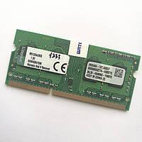 Оперативная память для ноутбука Kingston SODIMM DDR3 4Gb 1333MHz 10600s CL9 (M51264J90S) Б/У, фото 1