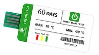 Одноразовый регистратор температуры Fresh Tag 1 (-30 ...+ 70 С; ±0.5 С) 60 дней. IP67. PDF