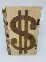"""Шкатулка """"Доллар"""", фото 1"""