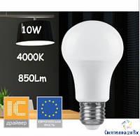 Светодиодная лампа типа А60 Feron LB701 10W 4000K  для общего и декоративного освещения