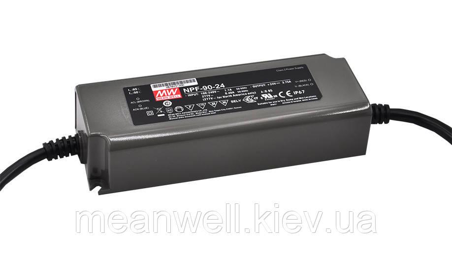 NPF-90D-36 AC/DC LED-драйвер DALI MeanWell  90Вт, 36В, 2.5А
