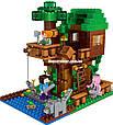 "Конструктор Lepin 18009 ""Домик у реки"" Minecraft , 406 деталей, фото 4"