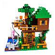 "Конструктор Lepin 18009 ""Домик у реки"" Minecraft , 406 деталей, фото 5"