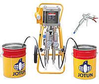 Двух компонентное оборудование для напыления жидкой резины, пенополиуретана DP-4336 (смешивание 1:1)