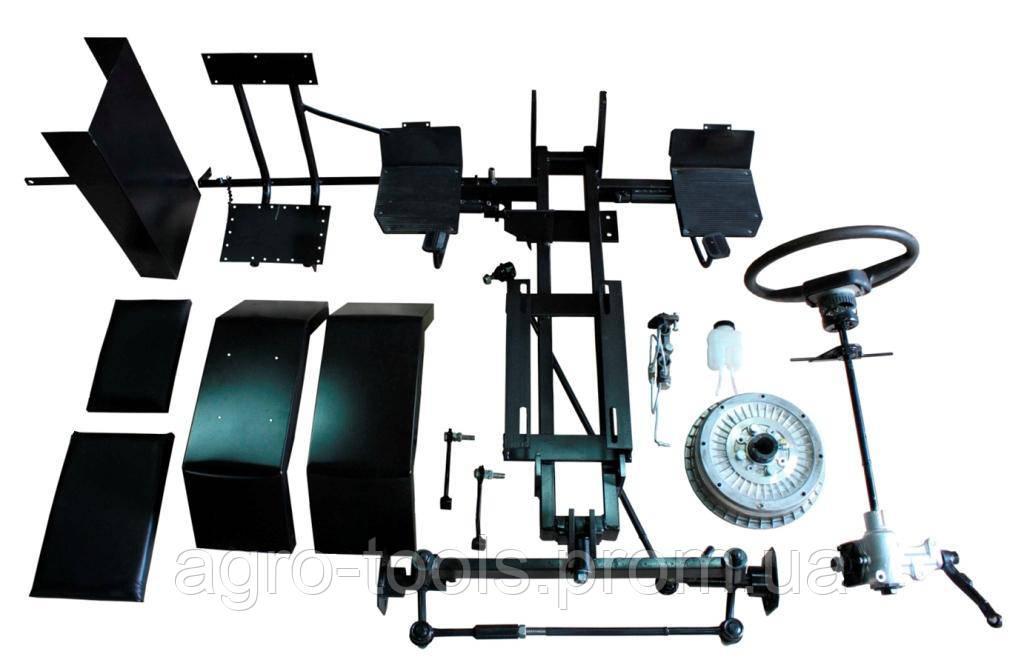 Комплект для переоборудования мотоблока в мототрактор №1 (механическая тормозная система) (КТ19)