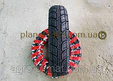 Шины на скутер 3.50-10 бескамерная шоссе шестислойная , фото 3