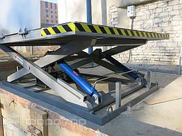 Высота подъема платформы — 1600 мм.