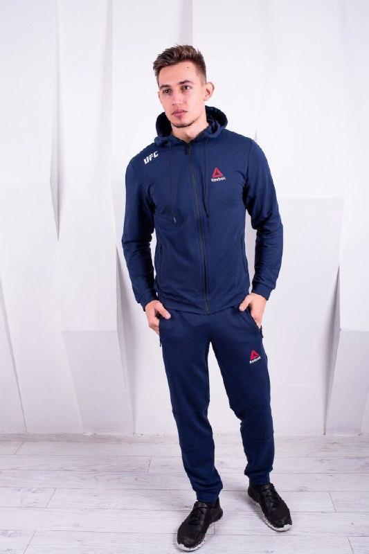 c041ce56cda3 Мужской спортивный костюм UFC /синий/ Весна-Лето-Осень , цена ...