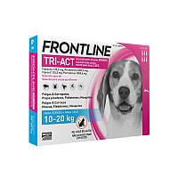 Фронтлайн Три-Акт капли от блох, клещей и комаров для собак весом от 10 до 20 кг