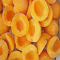 Персик замороженный половинки, минимальная фасовка для заказа  2,5 кг. В ящике насыпом 10 кг.