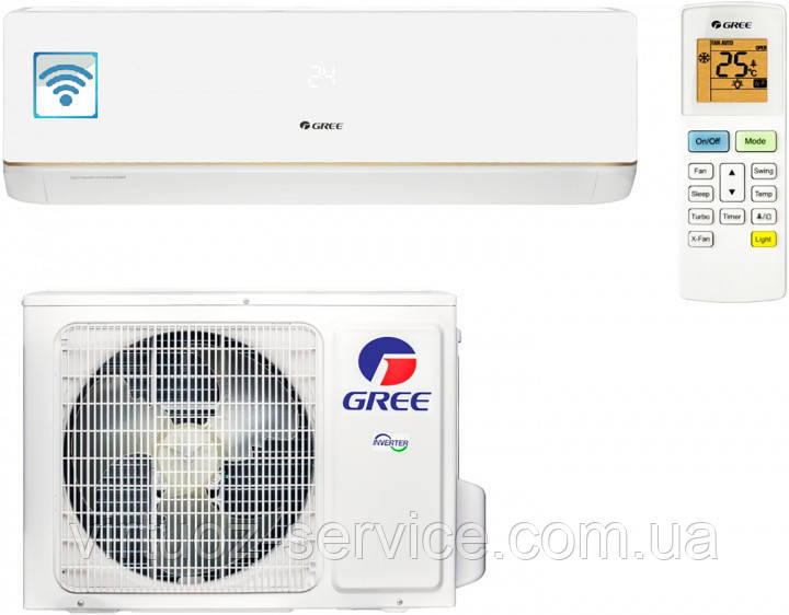 Кондиционер GREE GWH24AAD-K3DNA5A серии Bora Wi-Fi Inverter