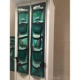 Органайзер подвесной с карманами Green Bag (5 карманов), 11х57 см, фото 2