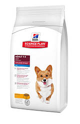 Сухой корм для собак мелких пород Hills SP Canine Adult Advanced Fitness Mini с Курицей 1,5 кг