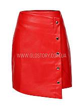 Женская кожаная юбка GLO-Story,Венгрия