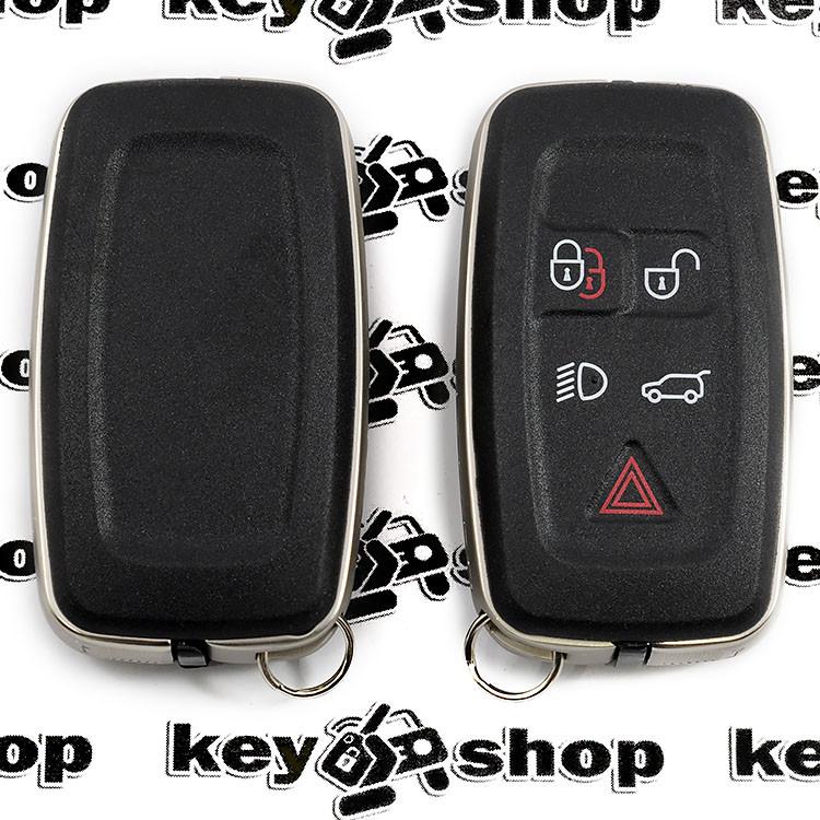 Корпус смарт ключа для RANGE ROVER (ренж ровер) DISCOVERY, RANGE ROVER SPORT, DISCO, VOGUE 5 - кнопок