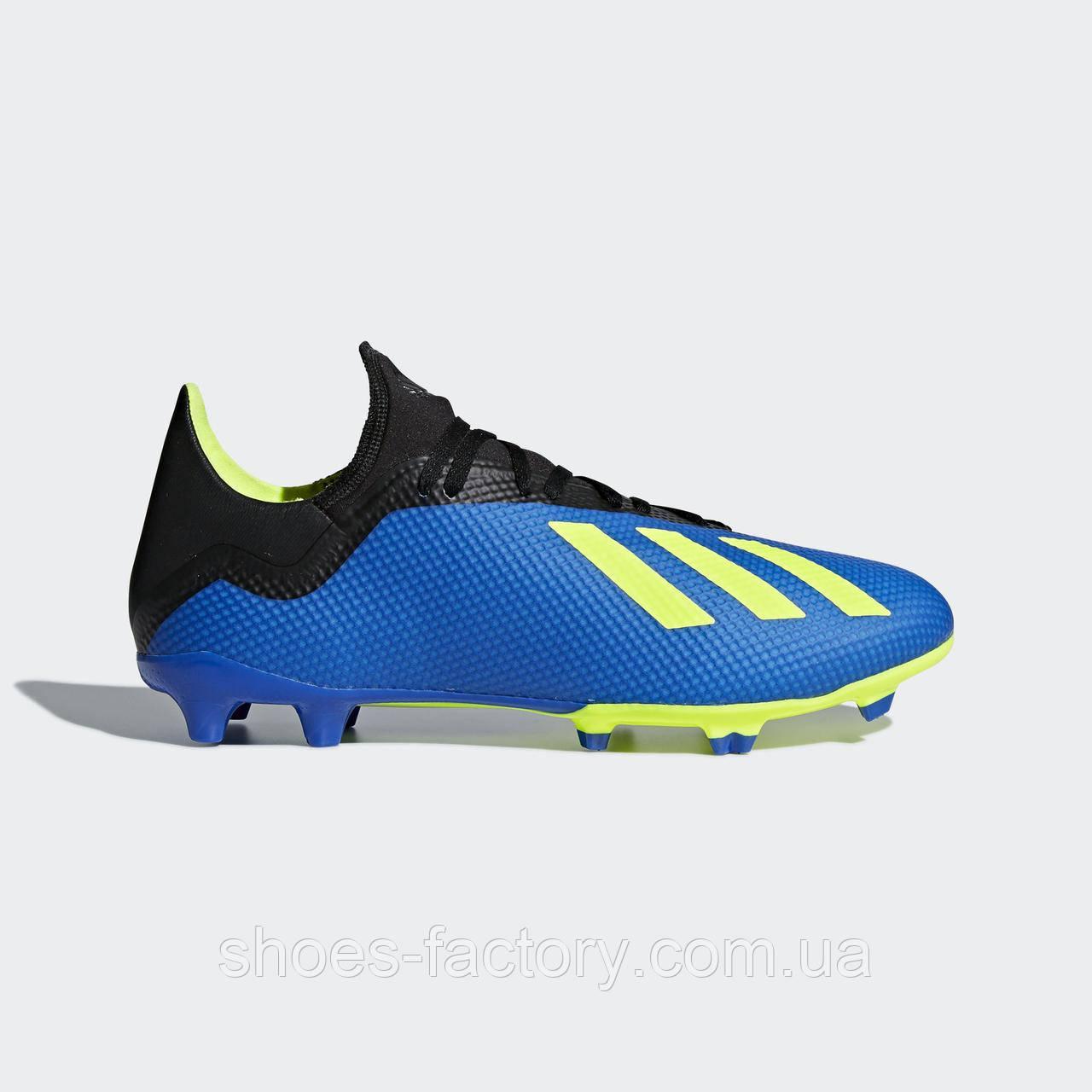 Бутсы Adidas X 18.3 Firm Ground Cleats, DA9335 (Оригинал)