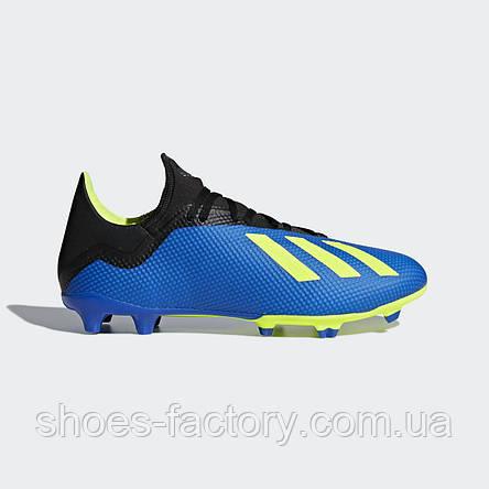 Бутсы Adidas X 18.3 Firm Ground Cleats, DA9335 (Оригинал), фото 2