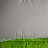 Пуховая, натуральная, мягкая,  невысокая  подушка 50×70, фото 8