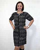 Черно белое платье с короткими рукавами от Peppercorn