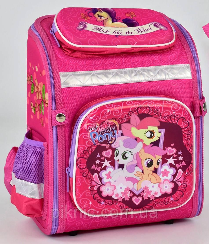 d887f7c99207 Ранец школьный каркасный ортопедический Пони 1, 2 класс. Для девочек.  Рюкзак, портфель