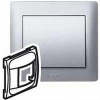 Galea Life Лицевая панель для датчика движения 300Вт, алюминий Legrand