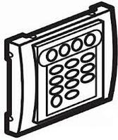 Galea Life Лицевая панель для механизма звуковой трансляции FM-тюнер+адаптер, титан Legrand