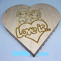 "Шкатулка ""Сердце Love"""