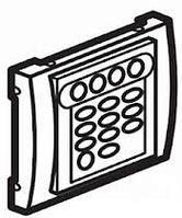 Galea Life Лицевая панель для системы звуковой трансляции, алюминий Legrand