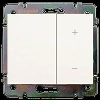 Galea Life Лицевая Панель Светорегулятор (диммер) (арт.775652/53) клавишный   белая