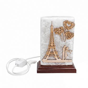 Соляная лампа Соляная лампа Панно Париж 2,5кг