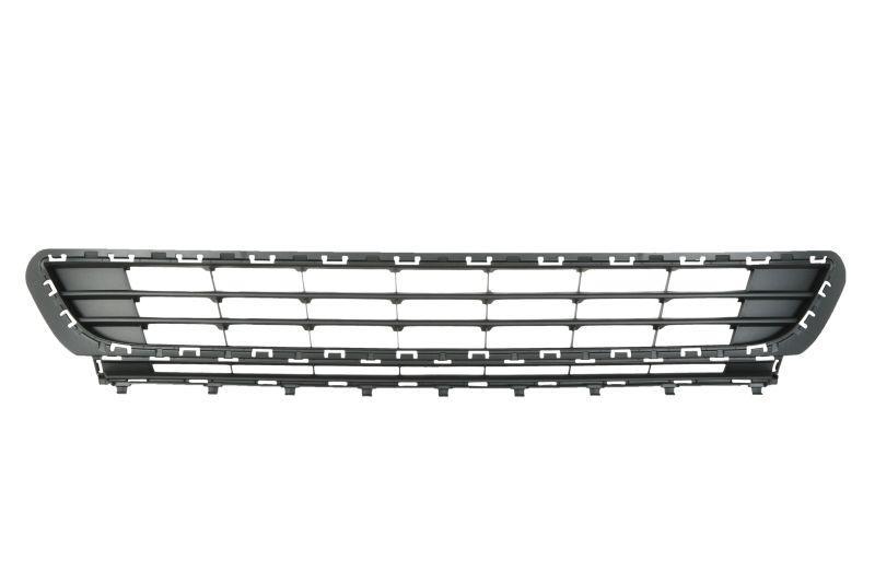 Решетка в бампер Volkswagen Golf VII 13- средняя  7431 910, 5G08536779B9